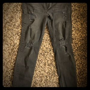 Maurices Distressed Skinnies
